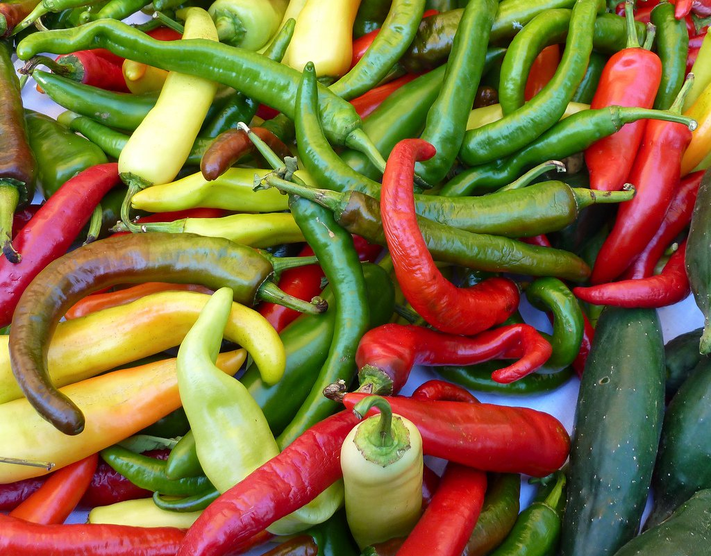 spicy peppers are good for dental health